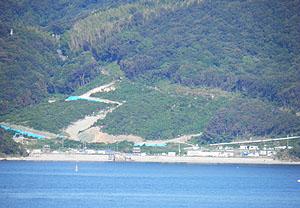 最近の田ノ浦海岸