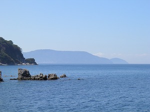 白井田から見た祝島