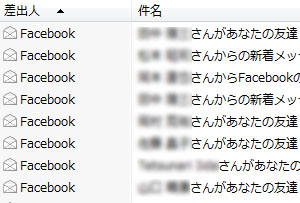 facebookに登録した