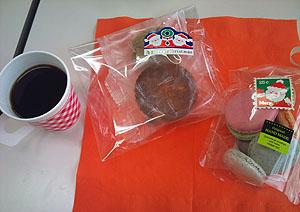 お茶会のお菓子もXmasバージョン