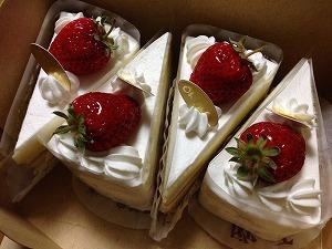 欧舌さんのショートケーキ