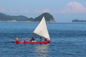 帆かけカヌー
