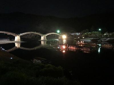 錦川の鵜飼