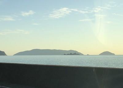 国道からの祝島
