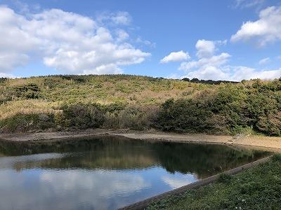 カタアのため池
