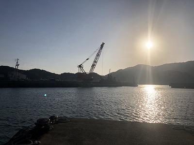 室津港の工事