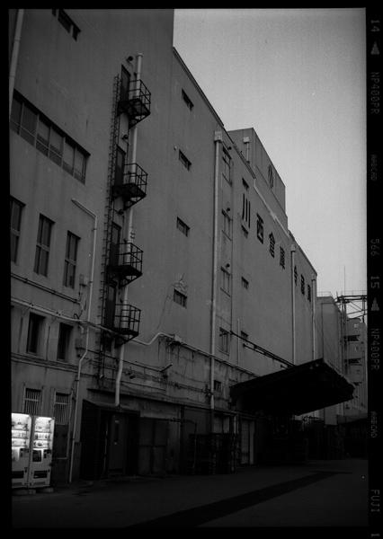 神戸の倉庫