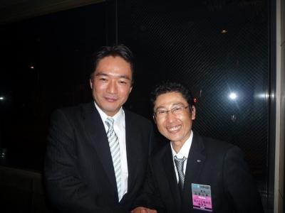 尾崎正直知事と握手
