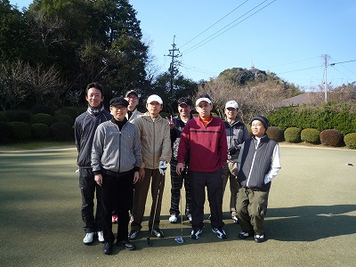 EVER CIRCLE委員会ゴルフコンペ5