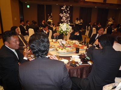 中地英彰友理子結婚披露宴7
