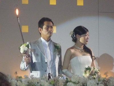 中地英彰友理子結婚披露宴9