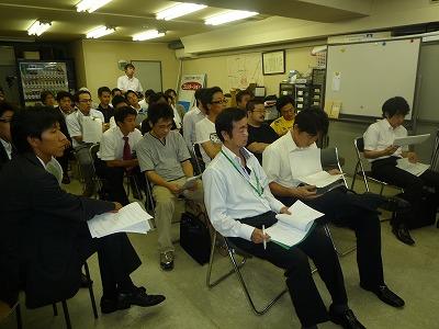前期新入会員事業オリエンテーション