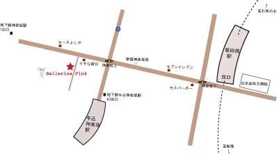 神楽坂店MAP