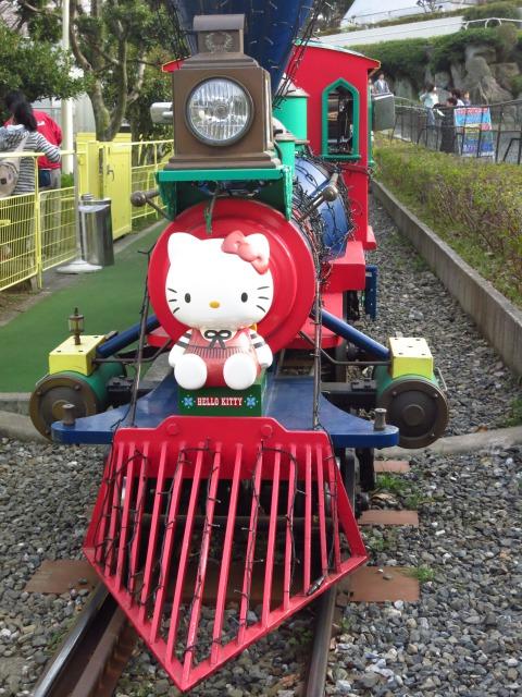 西武園遊園地キティ列車2.jpg