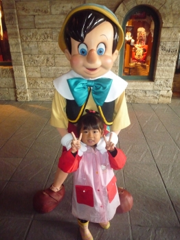 ピノキオと一枚