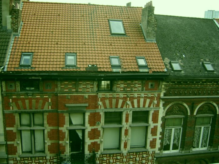 フォー・ポインツ・ホテルの窓から写した風景。