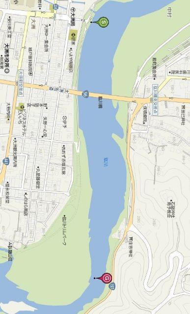練習場所地図
