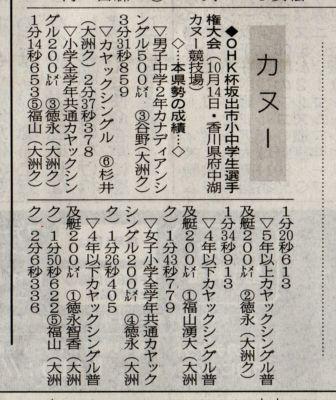 愛媛新聞H25.11.6