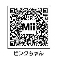 ピンクタイクス Mii QRコード