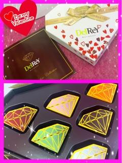 Eliyahnaからは、私のアーティスト名でもある『ダイアモンド』のチョコレート(^^)