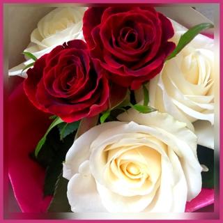 Yukaさんより美しいバラの花束を頂戴致しました