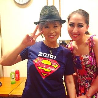 ショーのお誘いをして下さいました、憧れの矢口美香さん有難うございました5