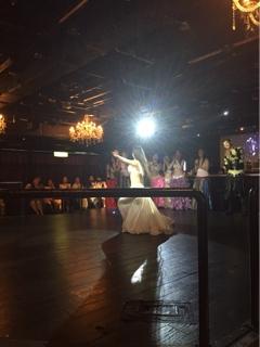 アフターパーティーでは、六本木にある豪華なステージで踊らせて頂きました17