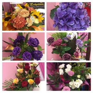 生徒様方よりたくさんの美しいお花も頂戴致しました。いつも応援して下さり有難うございます。嬉しかったです