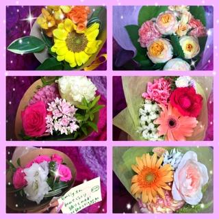 また、皆様より美しいお花を頂戴しとても嬉しかったです。祝福のお花を頂き幸せな気持ちです。有難うございました。