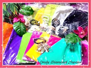 ベリネシアンダンス福袋限定7個 価格10,000円 内容:トップス、ショートパレオ、ネックレス、スクールTシャツ、レッスンチケット2枚