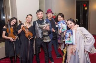 ゲストミュージシャンのアブダッラー先生、木村伸子先生、及川景子先生ご出演頂き誠に有難うございました。生演奏にて美しく豊かなアラブ音楽を会場いっぱいに響かせて頂きとても豪華な時間となりました。 私のリクエスト曲も演奏して下さり舞台袖で幸せに浸っておりました。 生演奏で踊らさせて頂けましたことも素晴らしい思い出となりました。 本当に有難うございました。