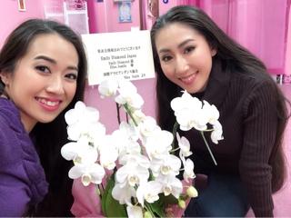 昨年ご出演下さいましたTaka Hayashi Irish Dance AcademyのTaka先生。 素晴らしいお花を有難うございます。