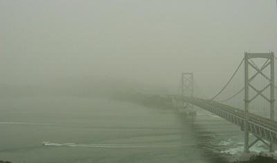 黄砂の大鳴門橋