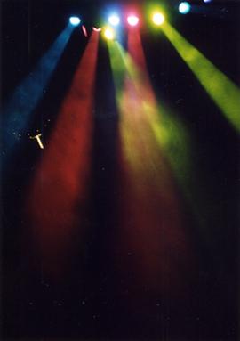 虹のネックレス
