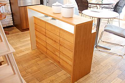 カフェの家具 キッチンカウンター 店舗什器