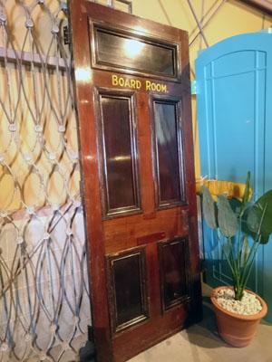 ガラス,アンティーク,木製,什器,ドア,建具