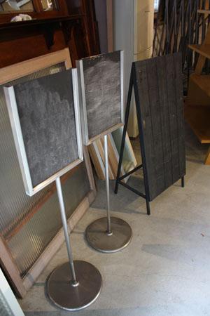 アイアン,什器,黒板,看板,スタンド