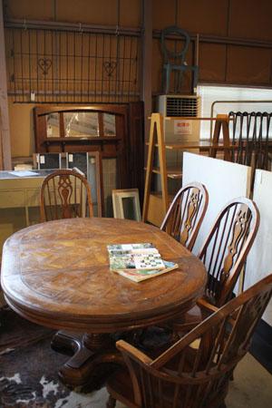 テーブル ディスプレイ台 カフェ チェア 木製 什器 ダイニング セット
