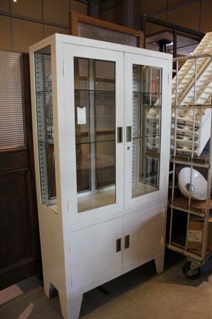 ラック 棚 ショーケース ガラス アパレル ディスプレイ台 アイアン 什器