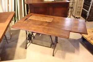 テーブル ディスプレイ台 什器 ミンガ— ミシン脚