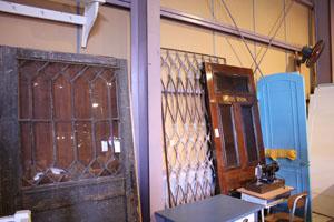 ガラス アンティーク クラシカル 什器 ドア 建具
