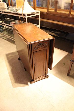 テーブル ディスプレイ台 アンティーク 木製 什器