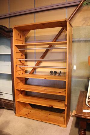 ラック 棚 ショーケース 木製 什器