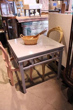 テーブル ディスプレイ台 シャビー 木製 什器