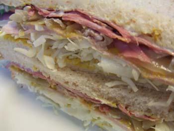 塩豚サンドイッチ