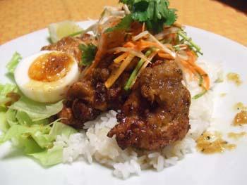 ドラゴンライス 鶏の唐揚げサラダ丼
