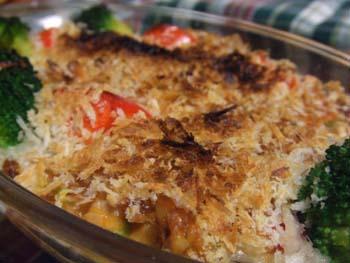 生鮭の味噌ネギマネーズグラタン
