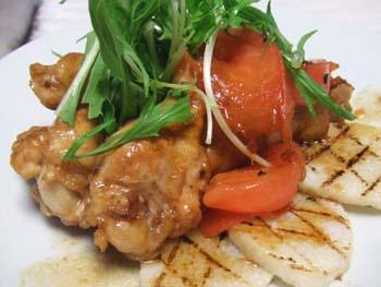 鶏手羽元のバルサミコ酢風味