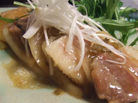 豚バラ肉と大根とエリンギのミルフィーユ蒸し