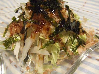超簡単 白菜のサラダ